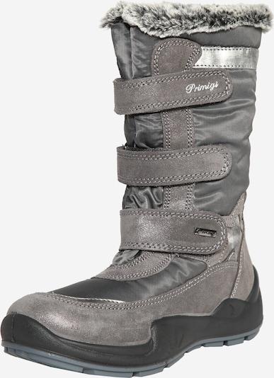 PRIMIGI Škornji za v sneg | temno siva / srebrno-siva barva, Prikaz izdelka