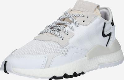 ADIDAS ORIGINALS Sneaker 'Nite Jogger' in champagner / weiß: Frontalansicht