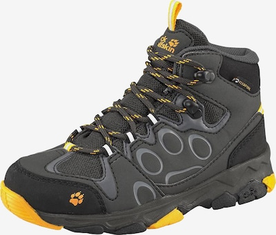 JACK WOLFSKIN Outdoorschuh 'Mountain Attack  2 Texapore Mid' in gelb / graphit, Produktansicht