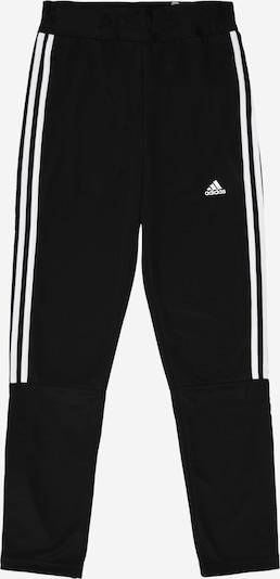 ADIDAS PERFORMANCE Športne hlače 'TIRO' | črna / bela barva: Frontalni pogled