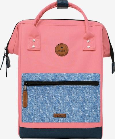 Cabaia Rucksack in himmelblau / pink, Produktansicht