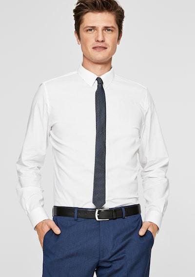 s.Oliver BLACK LABEL Businesshemd in weiß: Frontalansicht