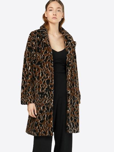 minimum Mantel 'belinde' in braun / schwarz, Modelansicht