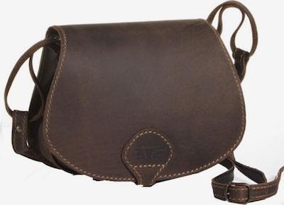 MIKA Sac à bandoulière en brun foncé, Vue avec produit