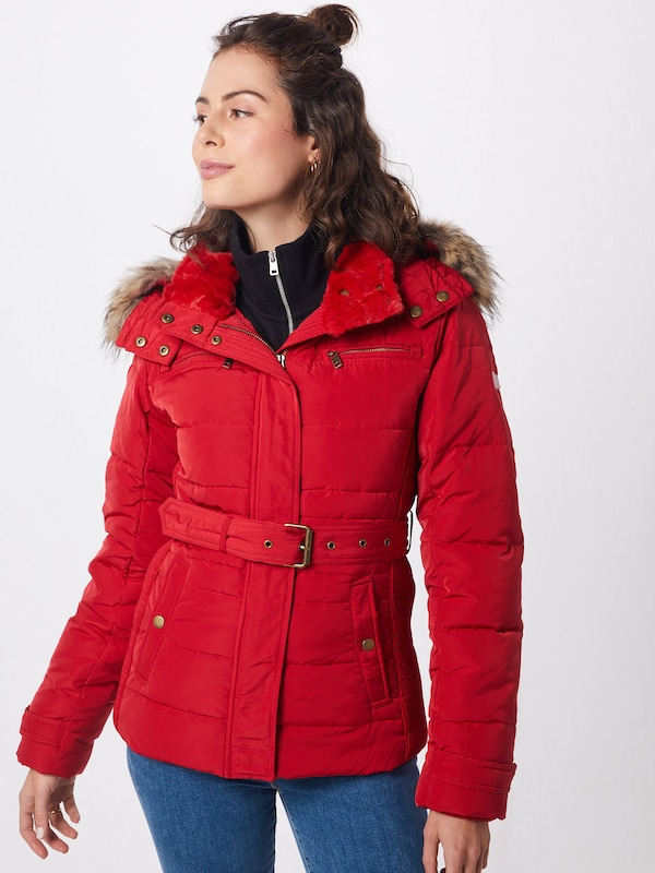 Pepe Jeans Jacke 'CARRIE' in rot: Frontalansicht