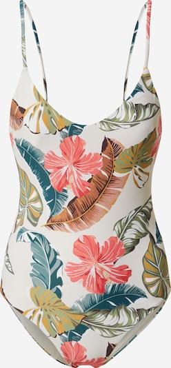 RIP CURL Badeanzug 'TROPIC COAST' in grün / mischfarben / rosa / weiß, Produktansicht