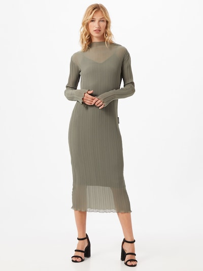 PATRIZIA PEPE Kleid 'Abito' in schlammfarben / khaki, Modelansicht
