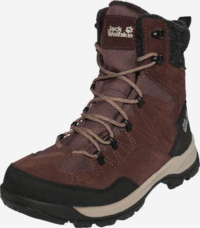 JACK WOLFSKIN Boots 'Aspen' in de kleur Bruin / Zwart, Productweergave