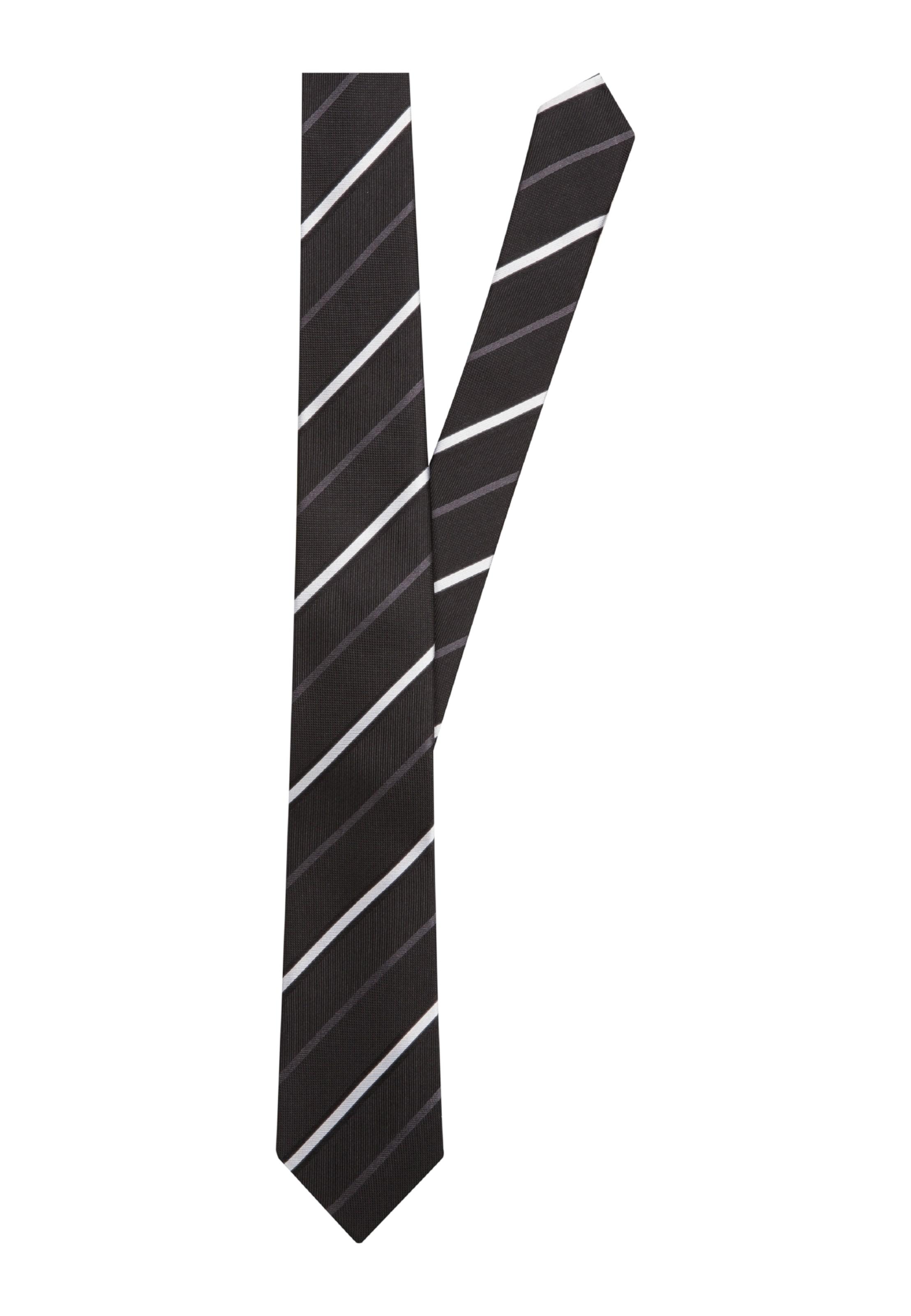 'schwarze Cravate En Seidensticker Noir Rose' wklPTZuOXi