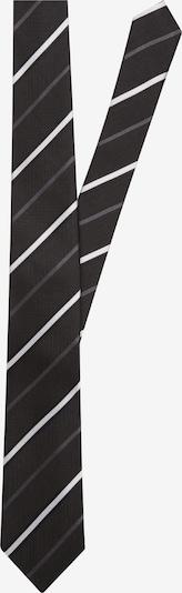 SEIDENSTICKER Krawatte 'Schwarze Rose' in schwarz: Frontalansicht