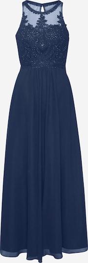 Laona Avondjurk in de kleur Navy / Donkerblauw, Productweergave