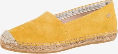 Fred de la BretoniÈre Espadrilles in gelb, Produktansicht
