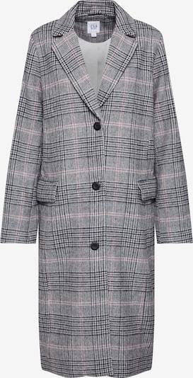 GAP Płaszcz przejściowy 'WOOL OVERCOAT - PLAID' w kolorze szary / różowym, Podgląd produktu