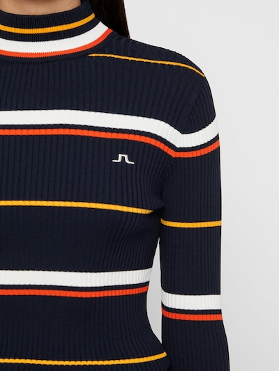 J.Lindeberg Pullover 'Kaila' in navy: Frontalansicht