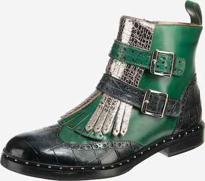 MELVIN & HAMILTON Stiefeletten 'Sally 93' in grün / schwarz / silber, Produktansicht