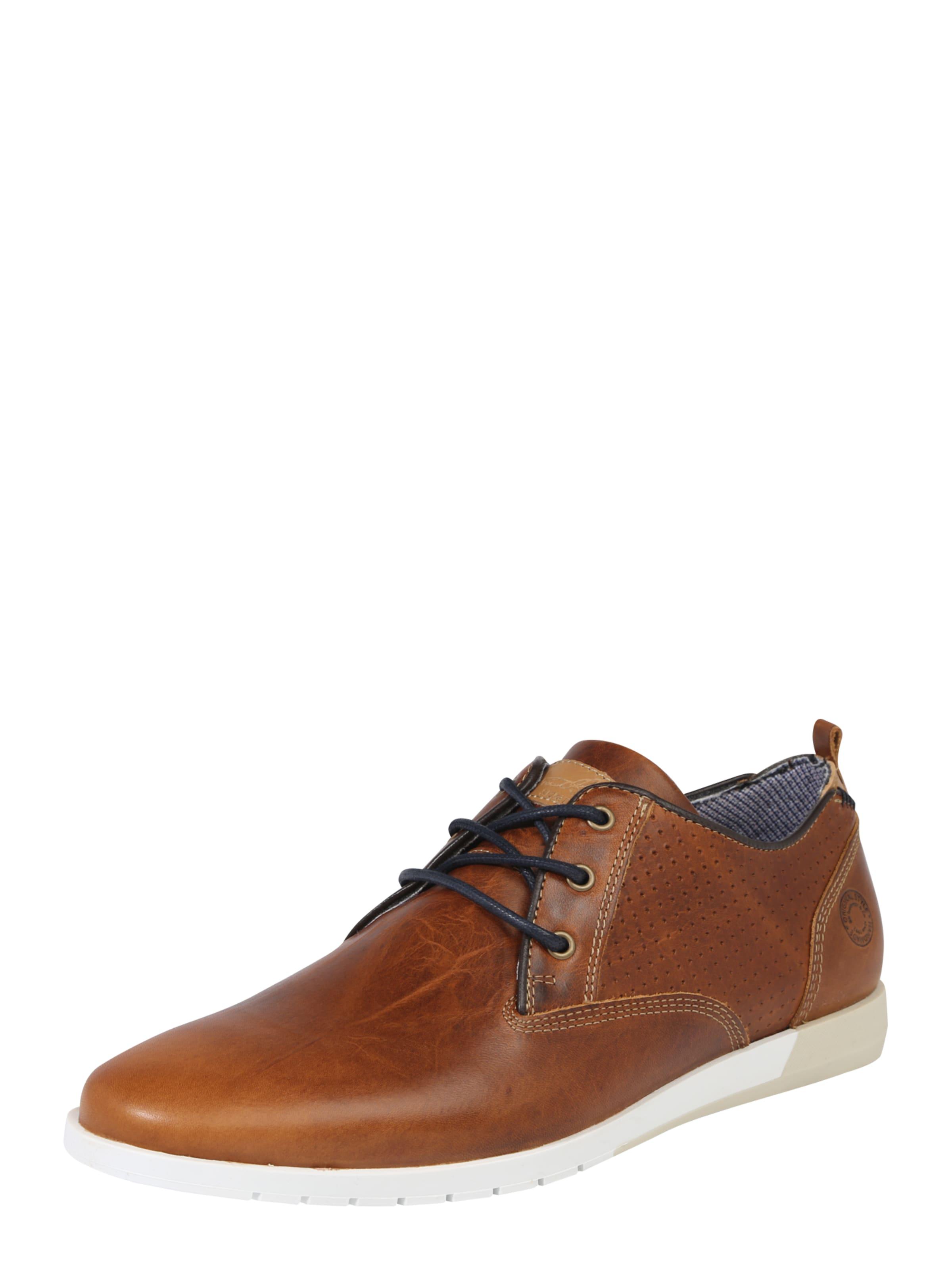 Haltbare Struktur-Leder Mode billige Schuhe BULLBOXER | Schnürschuhe aus Struktur-Leder Haltbare Schuhe Gut getragene Schuhe cf1b0f