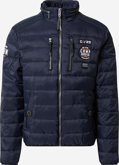 CAMP DAVID Winterjas in de kleur Navy, Productweergave