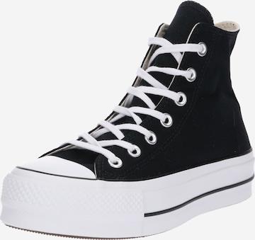 Baskets hautes 'CHUCK TAYLOR ALL STAR' CONVERSE en noir