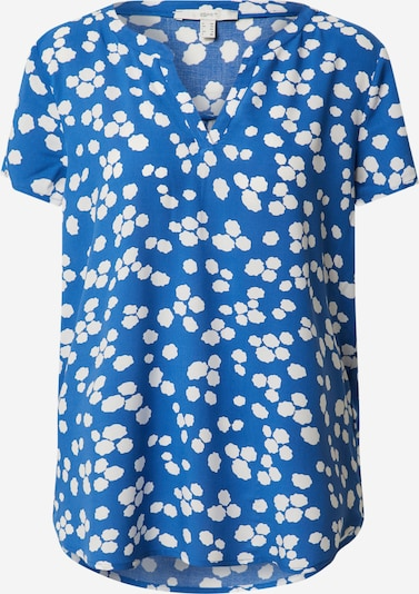 ESPRIT Blusenshirt in hellblau / weiß, Produktansicht