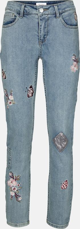 Linea Tesini by heine Jeans mit Stickerei