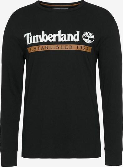 TIMBERLAND Sweatshirt in orange / schwarz / weiß, Produktansicht