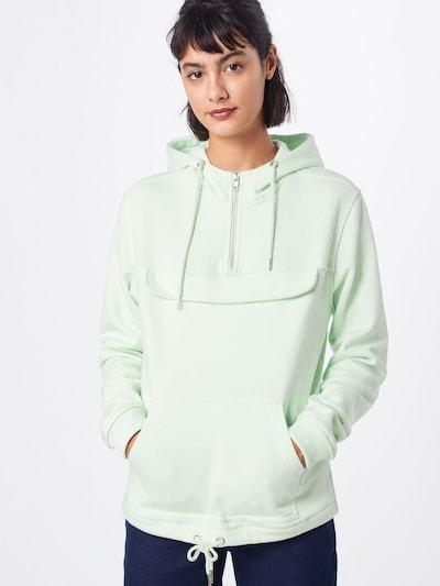 Urban Classics Sweatshirt in mint: Frontalansicht