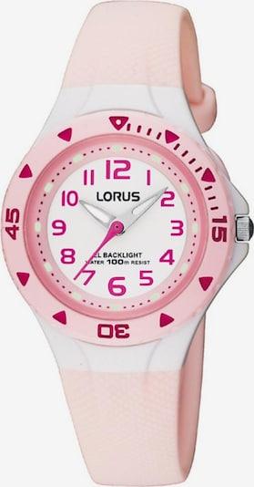 LORUS Uhr in rosé / weiß, Produktansicht