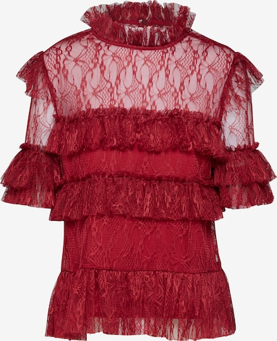 By Malina Blouse 'Rachel' in de kleur Bordeaux, Productweergave