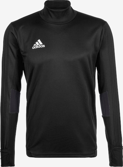 ADIDAS PERFORMANCE Trainingsshirt 'Tiro 17' in dunkelgrau / schwarz, Produktansicht