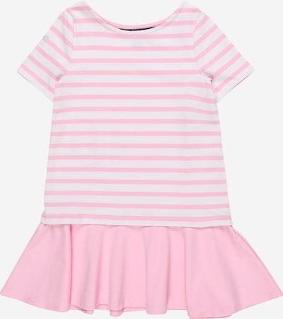 POLO RALPH LAUREN Kleid 'PONTE' in pink / weiß, Produktansicht