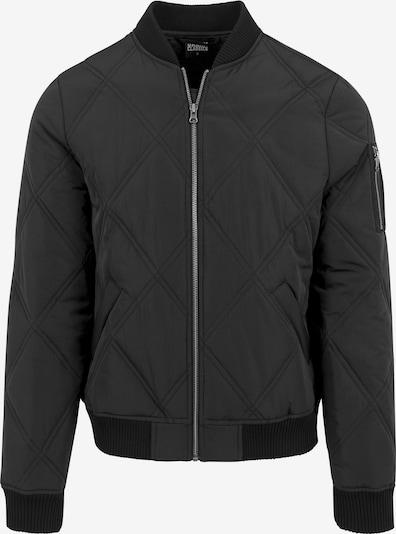 Urban Classics Jacket in schwarz: Frontalansicht