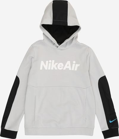 Nike Sportswear Sweat en gris / noir / blanc, Vue avec produit