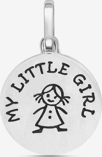FAVS Anhänger 'My Little GirI' in silber, Produktansicht