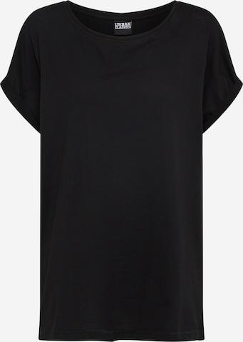 T-shirt Urban Classics Curvy en noir