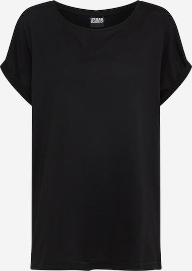 Urban Classics Curvy T-Shirt 'Extended Shoulder' in schwarz, Produktansicht