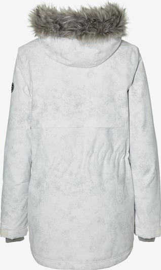 O'NEILL Jacke  'Pw Hybrid' in grau / weiß: Rückansicht