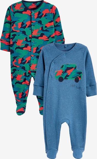 NEXT Schlafanzug Doppelpack in blau / grün, Produktansicht