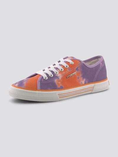 TOM TAILOR DENIM Shoes Batik Stoff-Sneaker in mischfarben, Produktansicht