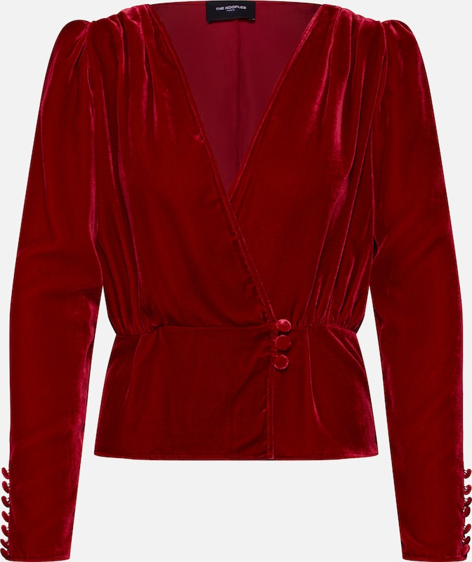 The Kooples Bluse in rot, Produktansicht