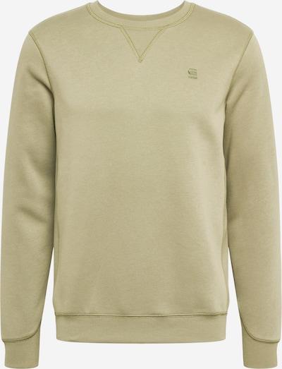G-Star RAW Sweatshirt 'Premium core' in de kleur Olijfgroen, Productweergave