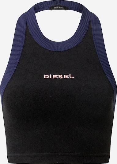DIESEL Top 'Ashly' in de kleur Lila / Zwart, Productweergave