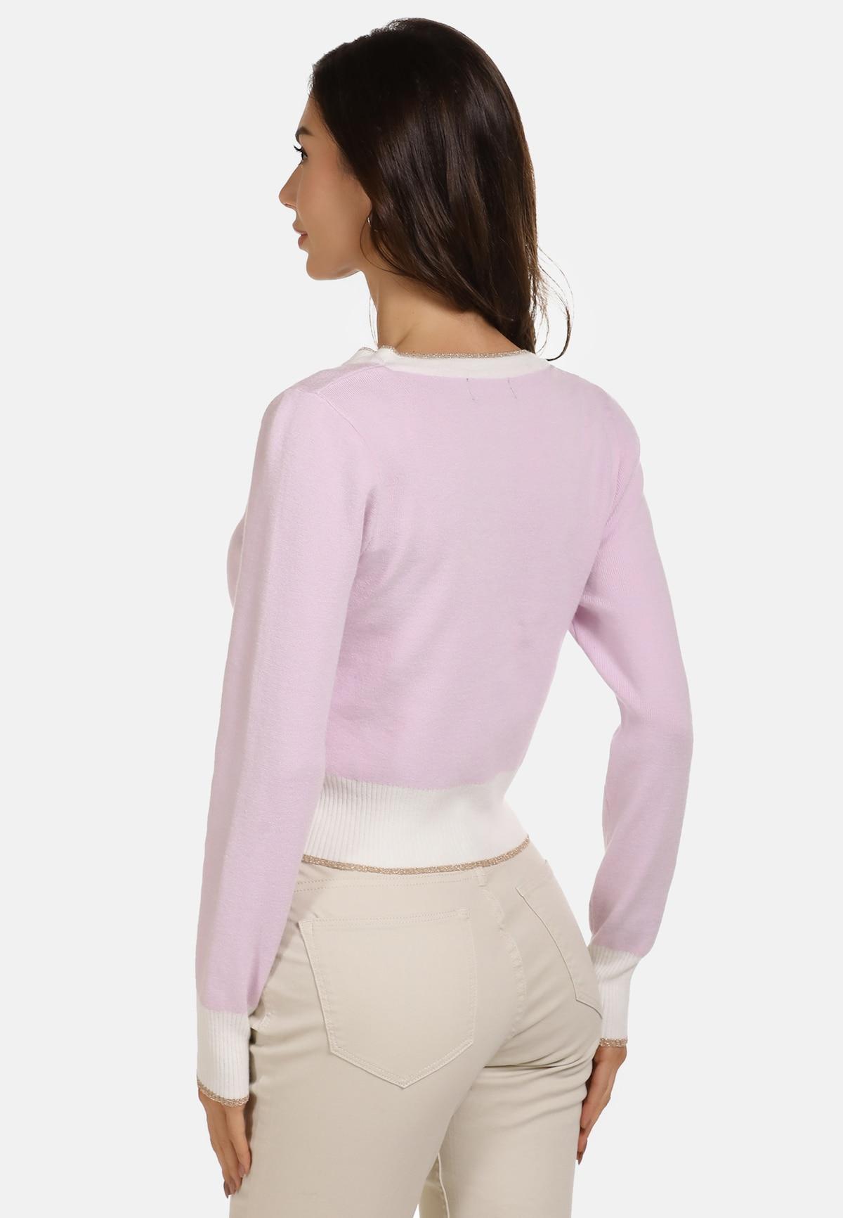 Beliebt Frauen Bekleidung faina Strickjacke in pink Zum Verkauf