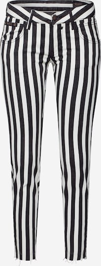 Herrlicher Hose in schwarz / weiß, Produktansicht