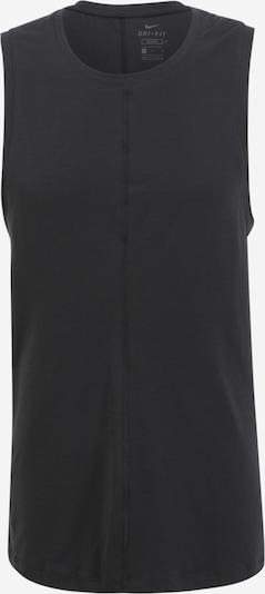 NIKE Funkcionalna majica | črna barva, Prikaz izdelka