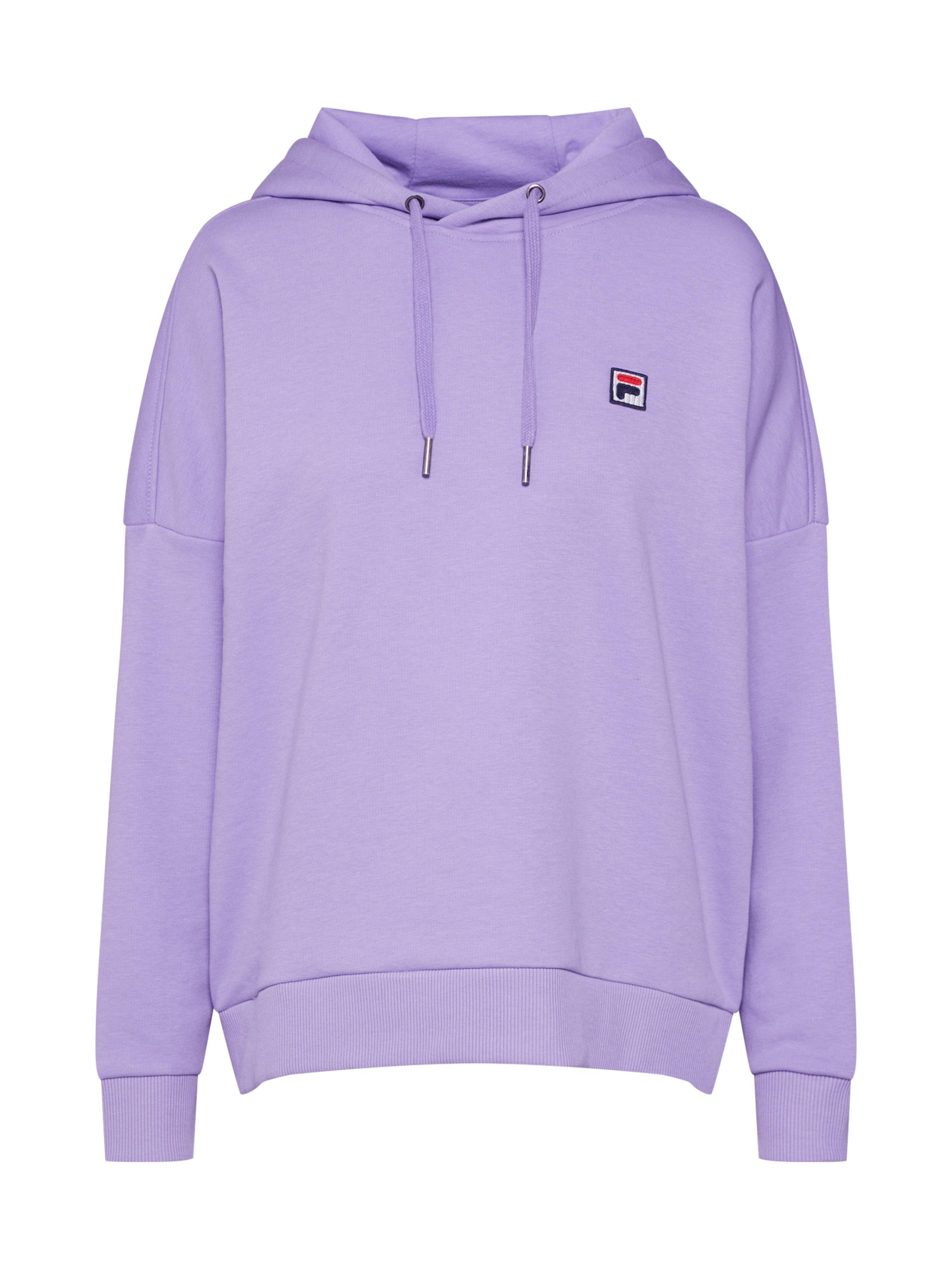 Flieder Fila Sweat' Cropped In Hoodie 'ada Sweatshirt XP80wOkn