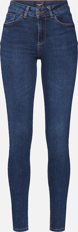 VERO MODA Jeans in blue denim: Frontalansicht