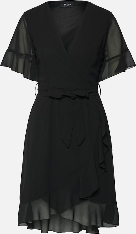 Sisters Noir Robe En 'greto' Point 3cJTluFK1