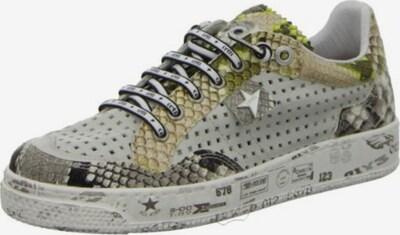 Cetti Sneaker in gold / grün / weiß, Produktansicht