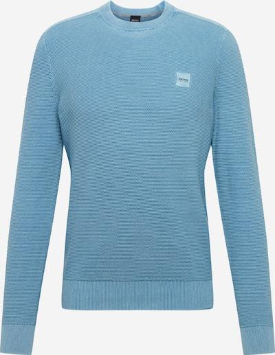 BOSS Trui 'Ampagne' in de kleur Blauw, Productweergave