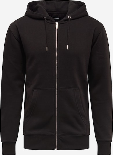 JACK & JONES Sweatjacke in schwarz, Produktansicht